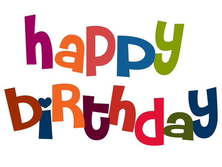 Happy Birthday Clip Art Free Cliparts Co