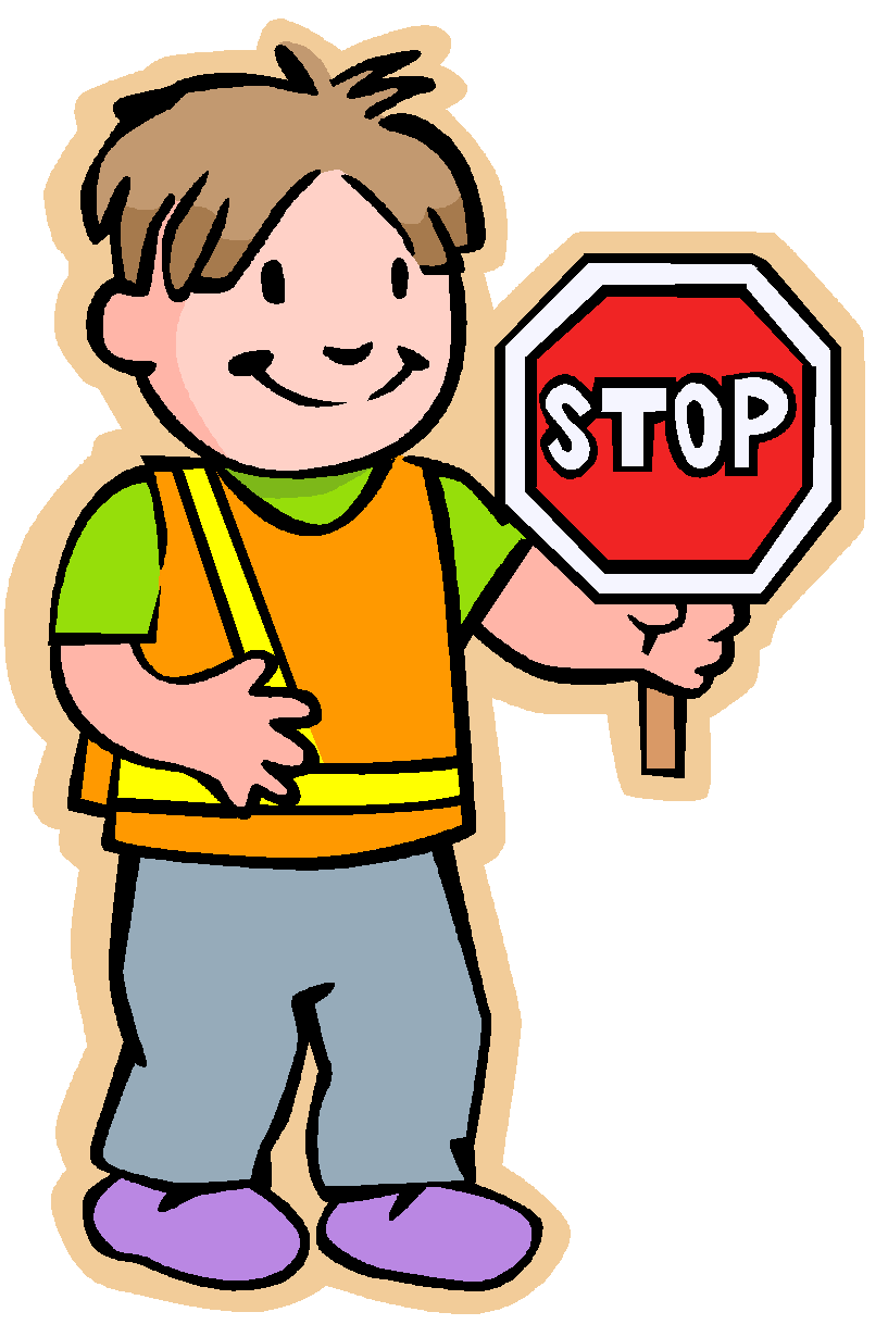 safety patrol clipart