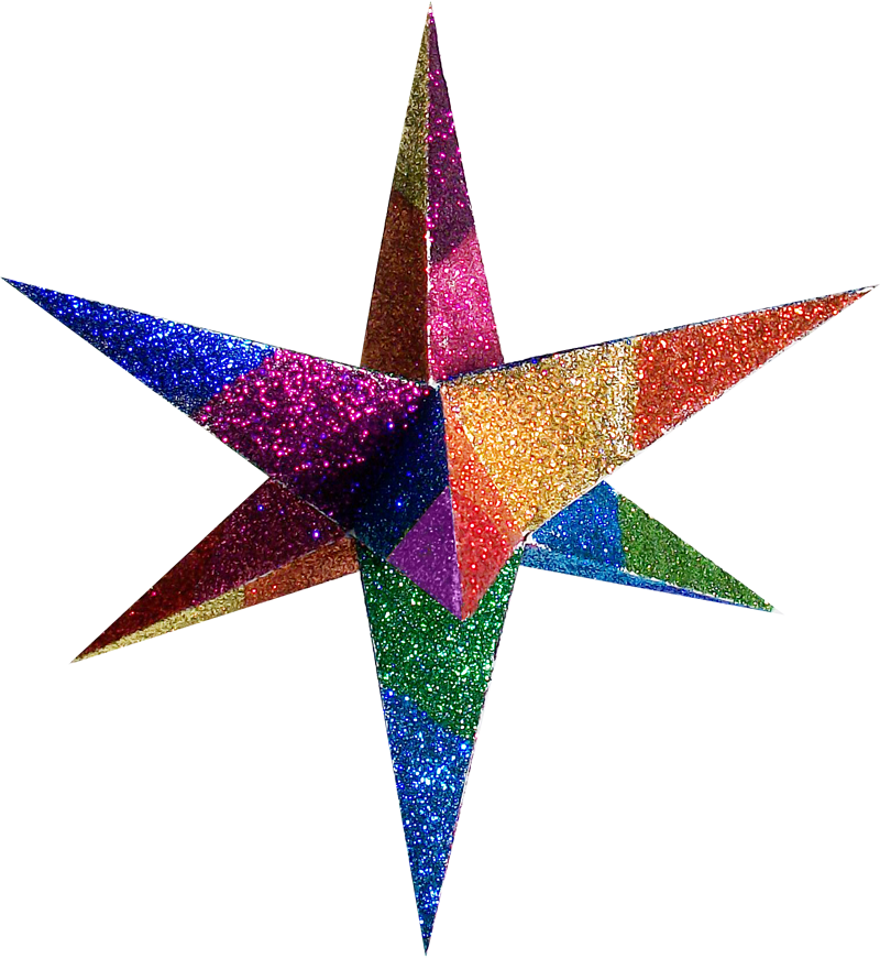 Pictures of 3d stars for 3d star decoration