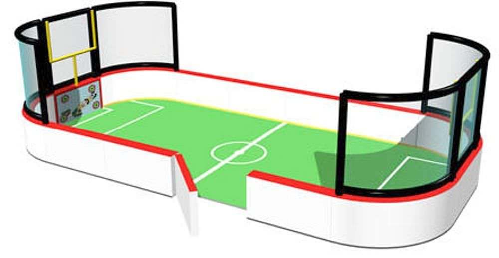 Football field modular for toddlers - - International Play