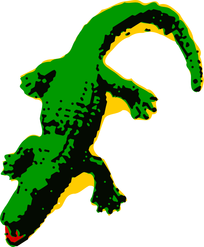 Clip Art Crocodile - Cliparts.co