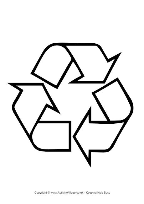 Coloring Pages For Recycling : Recycle coloring pages cliparts