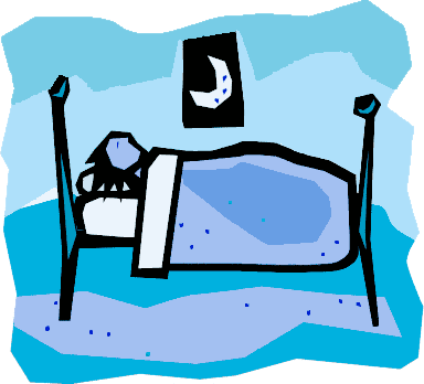 sleeping person clipart rh worldartsme com Sleeping Silhouette Clip Art Sleeping Zzz Clip Art
