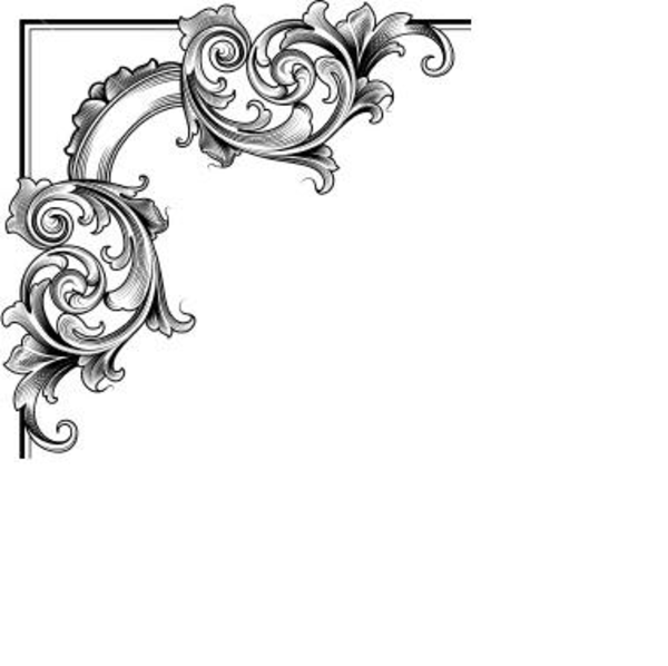 Decorative Corner Clip Art - Cliparts.co