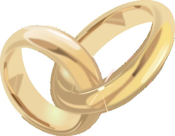 Wedding Rings 2 clip art - vector clip art online, royalty free ...