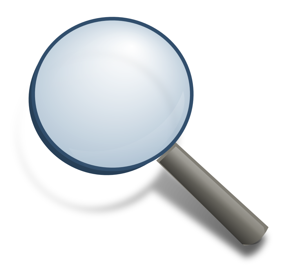 Magnifying Glass Clip Art | Chadholtz