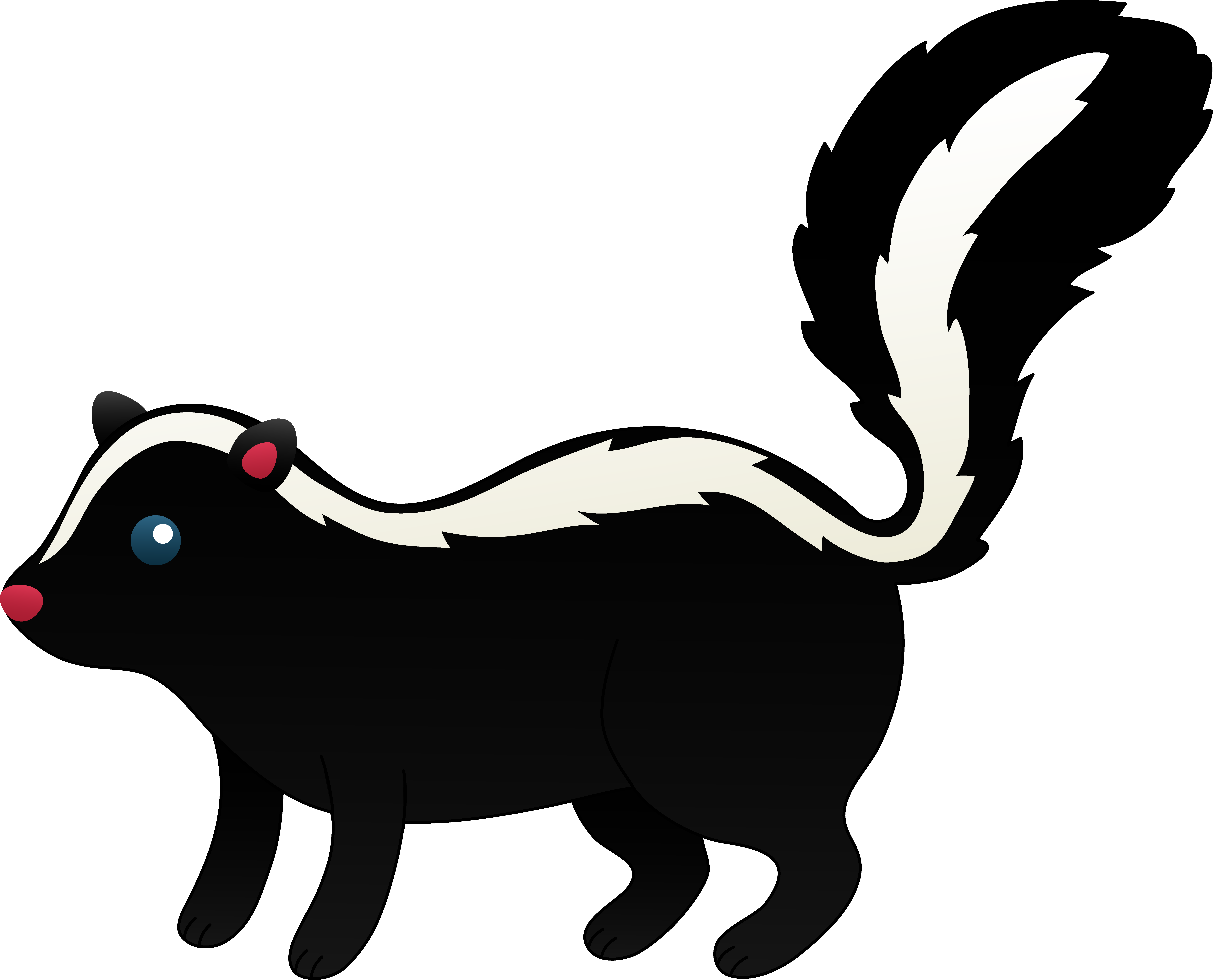 Skunk Clipart - Cliparts.co