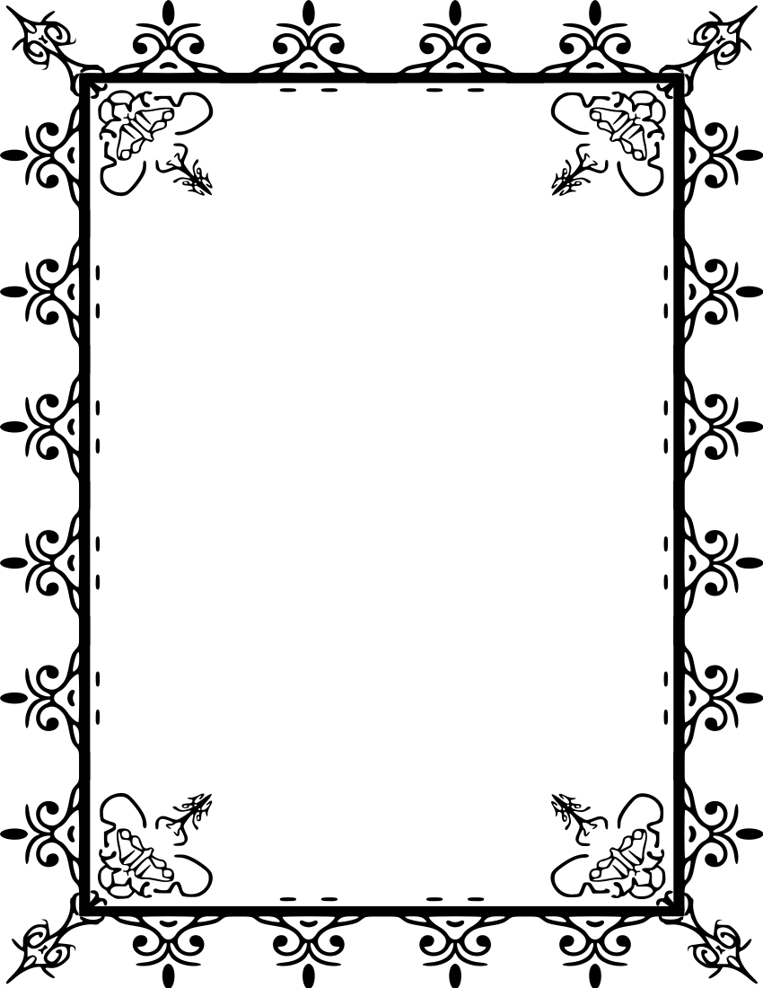 Images For > Fancy Page Borders And Frames