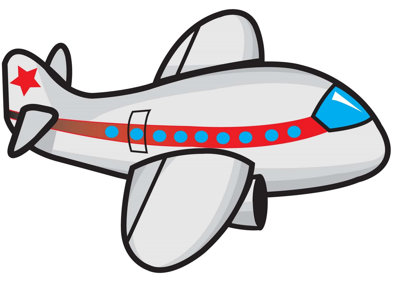 cartoon airplane clipart - photo #5