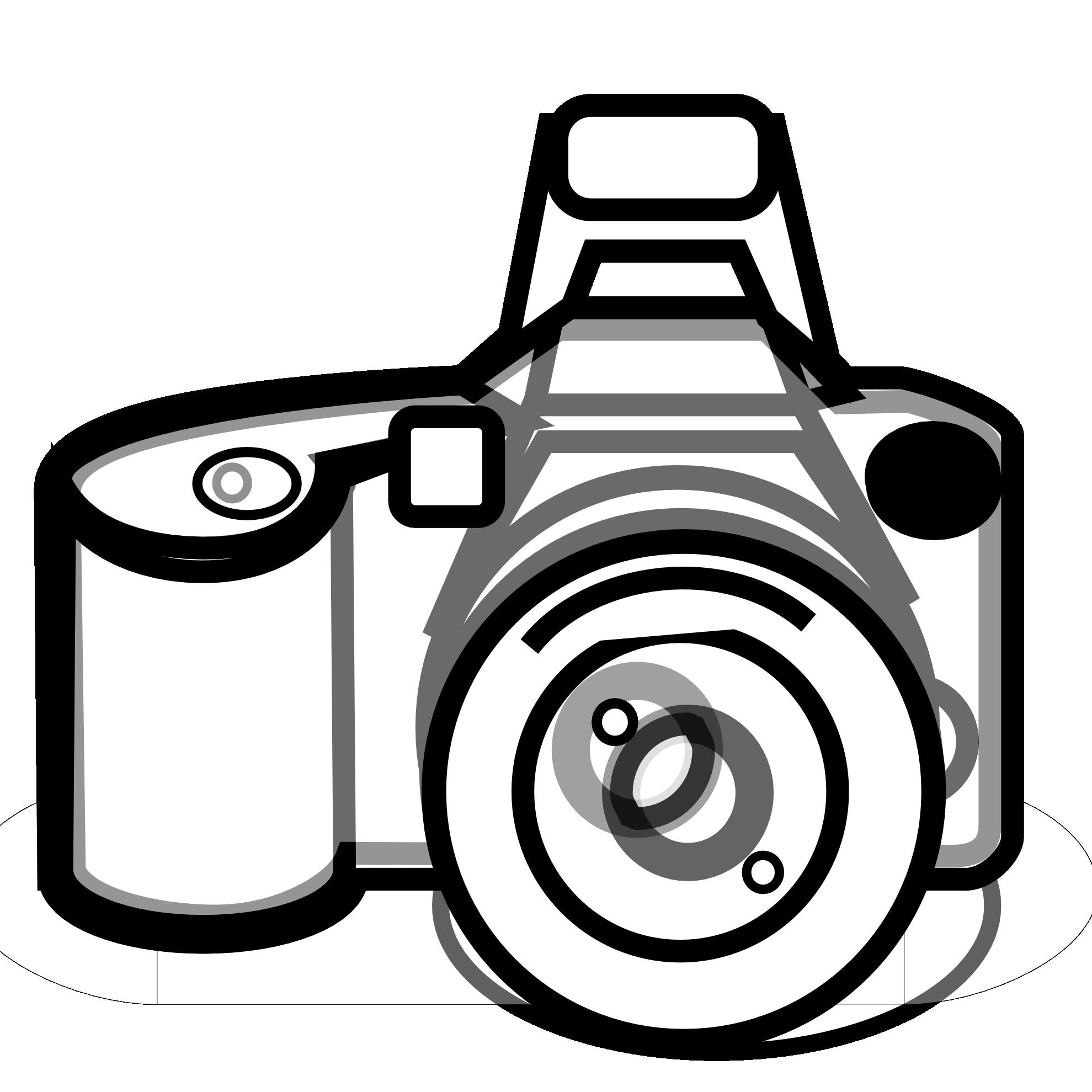 free clipart slr camera - photo #37