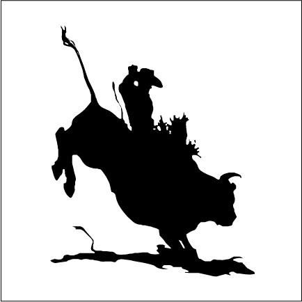 Bucking Bull Clip Art - Cliparts.co