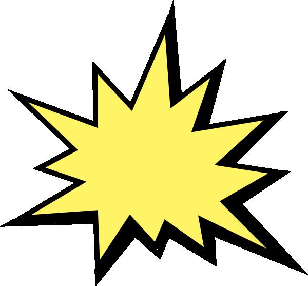 yellow starburst clipart - photo #39