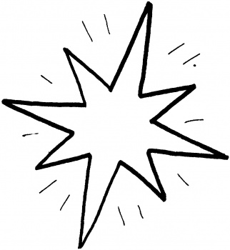 Shooting Star Coloring Page - Cliparts.co
