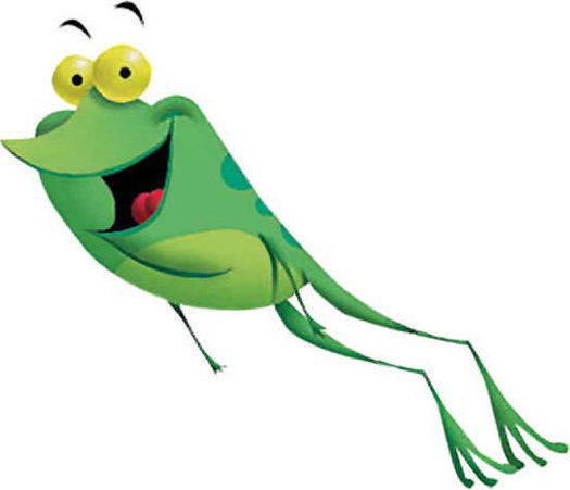 Leaping Frog Clip Art - Cliparts.co