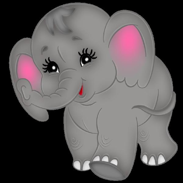 Elephant Cartoon Clip Art