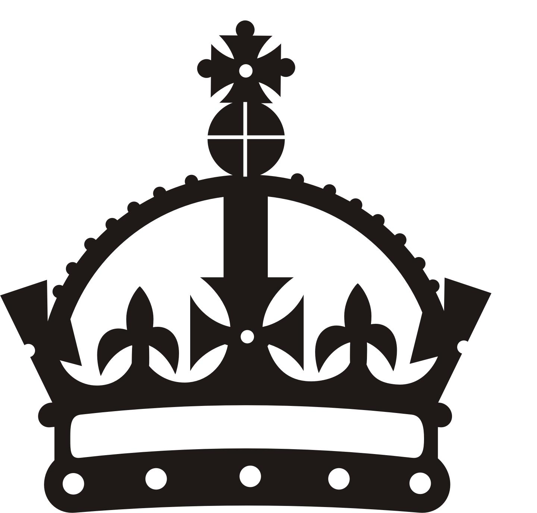 Free keep calm crown vector