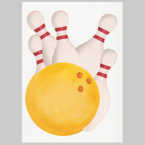 bowling party invitation template free