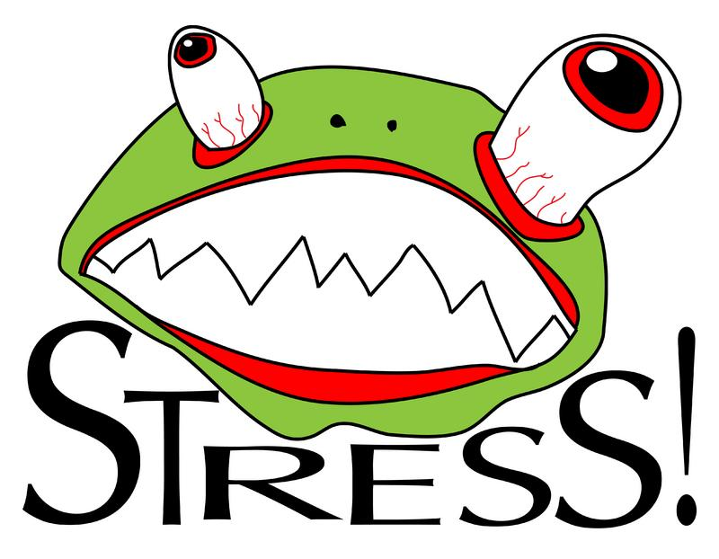 Funny Stressful Clipart [Slideshow]