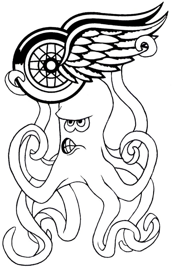 red wing coloring pages - photo#12