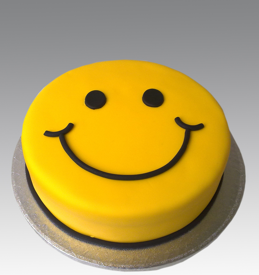 Cake Emoji Art : Big Grin Smiley - Cliparts.co