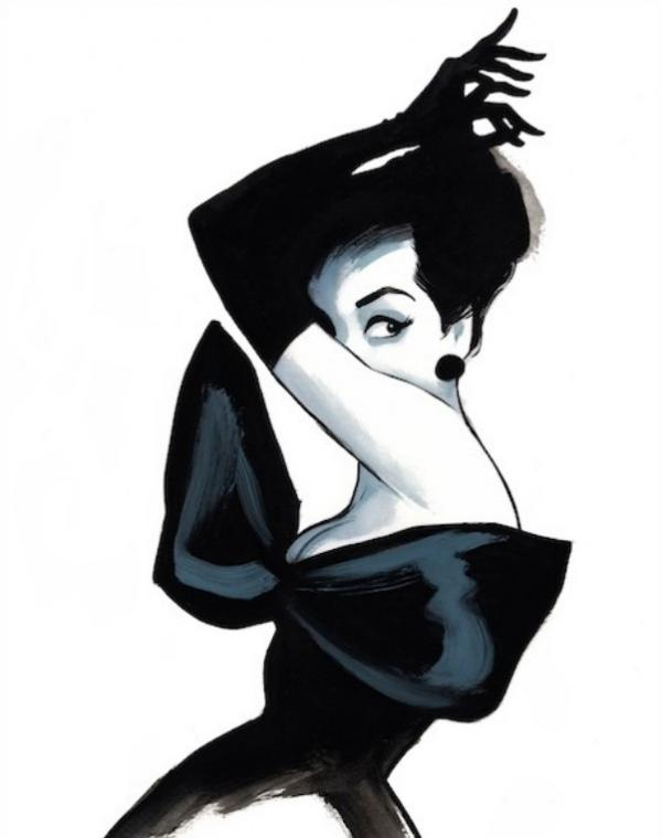 Fashion Illustrations by Fernando Vicente | Art and Design