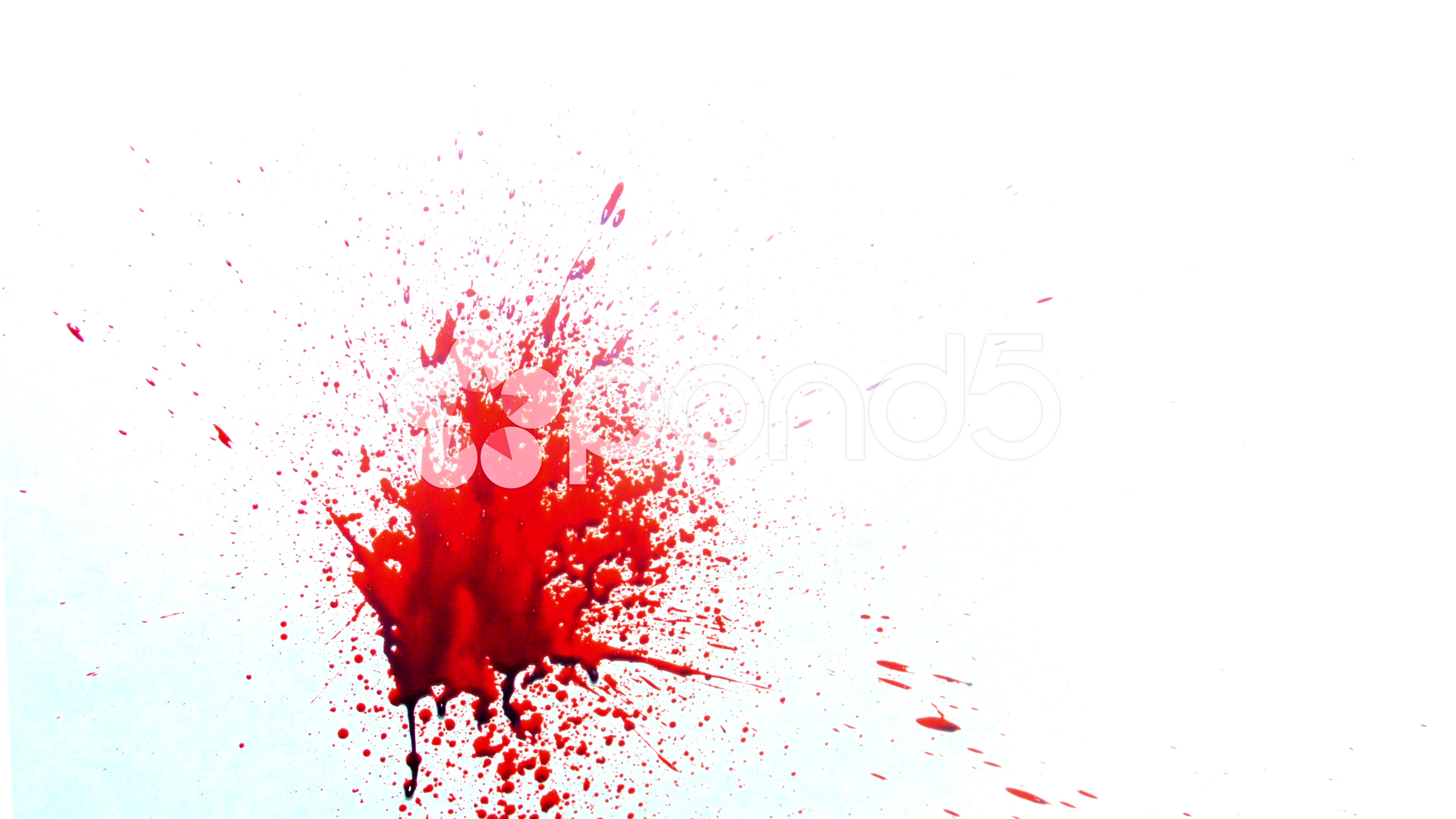 Blood Paint Effect Wall