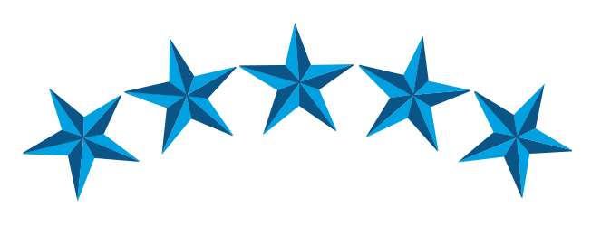 Five Stars - Cliparts.co