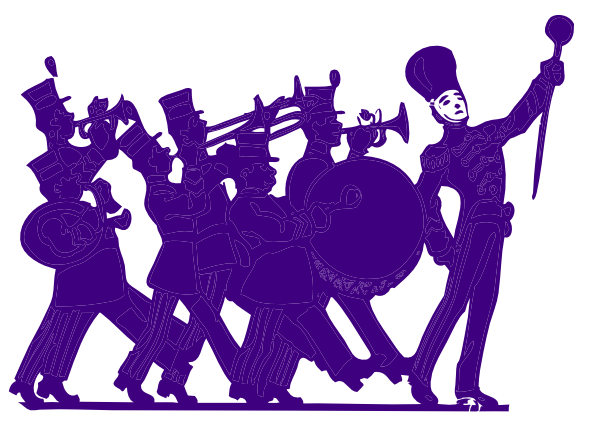 marching band graphics clipart rh worldartsme com marching band clipart silhouette marching band clipart free