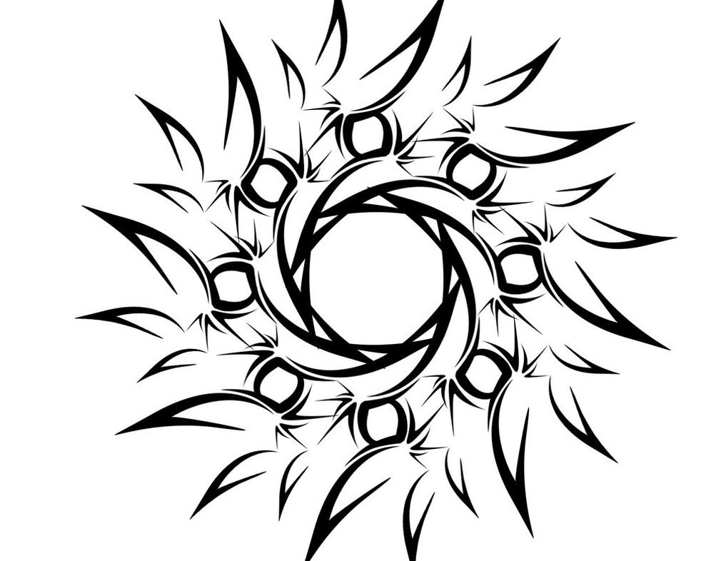 Tribal Flowers Tattoo Designs Clipartsco