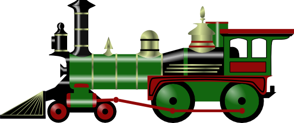 Free Clip Art Train Engine