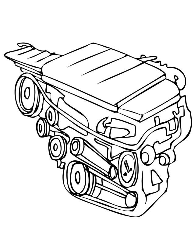 Car Engine Clip Art Cliparts Co