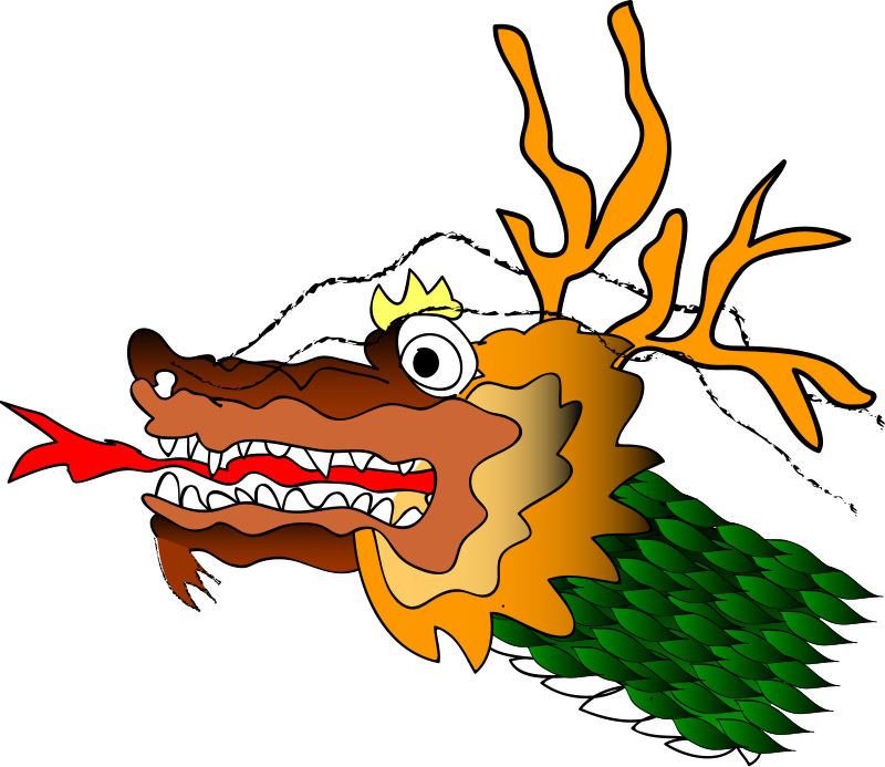 Chinese Dragron Free Vector / 4Vector
