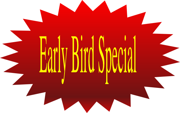 Early Bird Special clip art - vector clip art online, royalty free ...