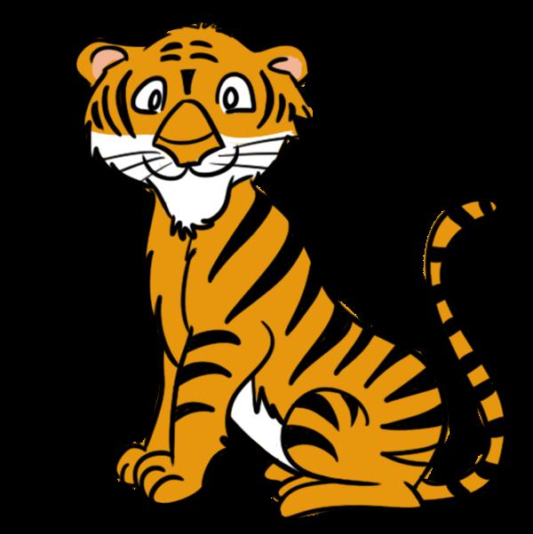 Cartoon Baby Tiger - ClipArt Best
