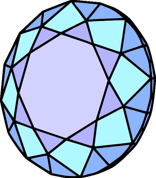 Diamond clip art - vector clip art online, royalty free & public ...