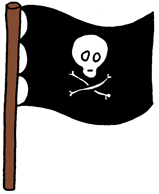 Pirate Flag Clipart - Cliparts.co