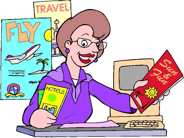 Travel Agent Clipart Free