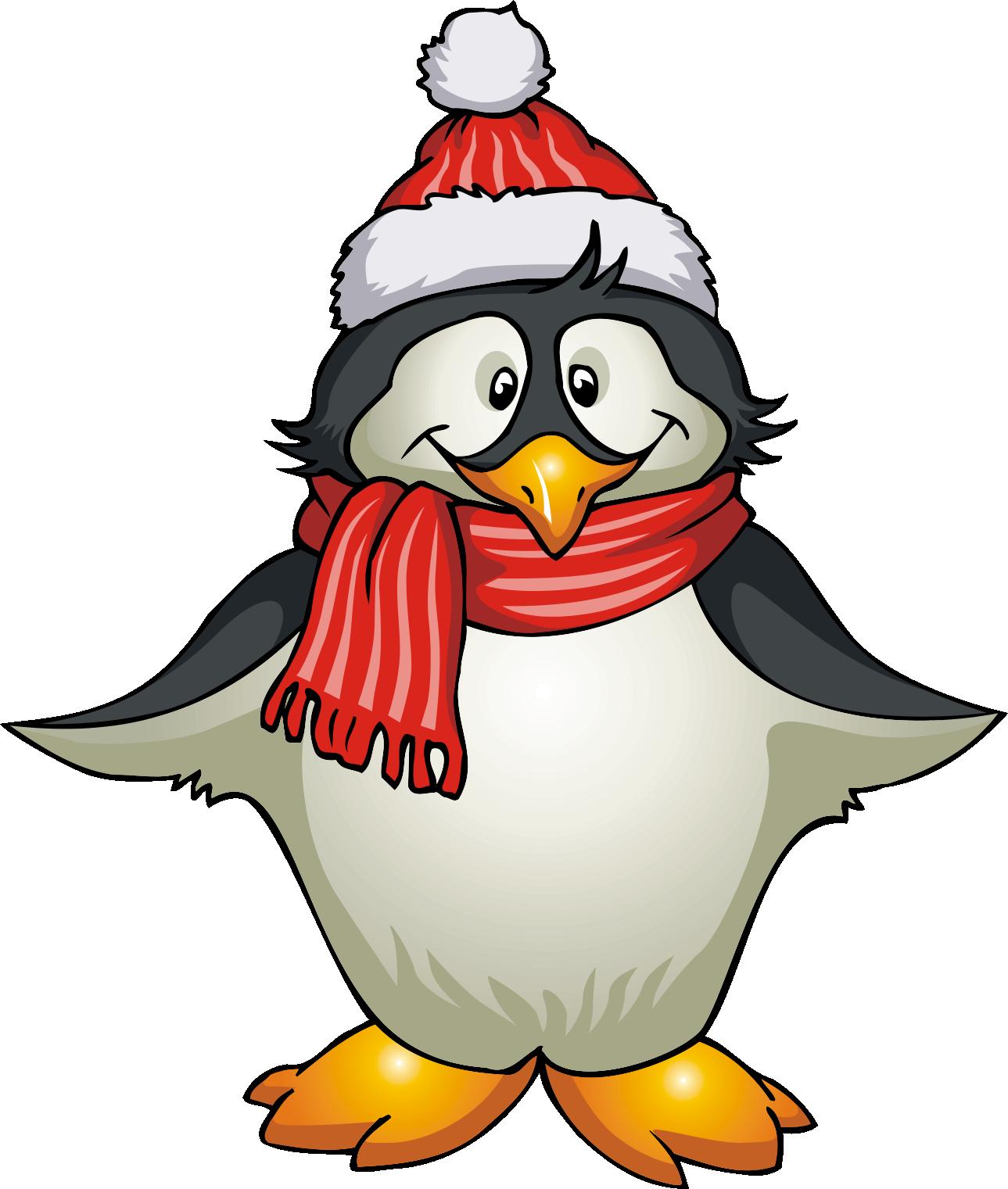 Winter Penguin Clip Ar...