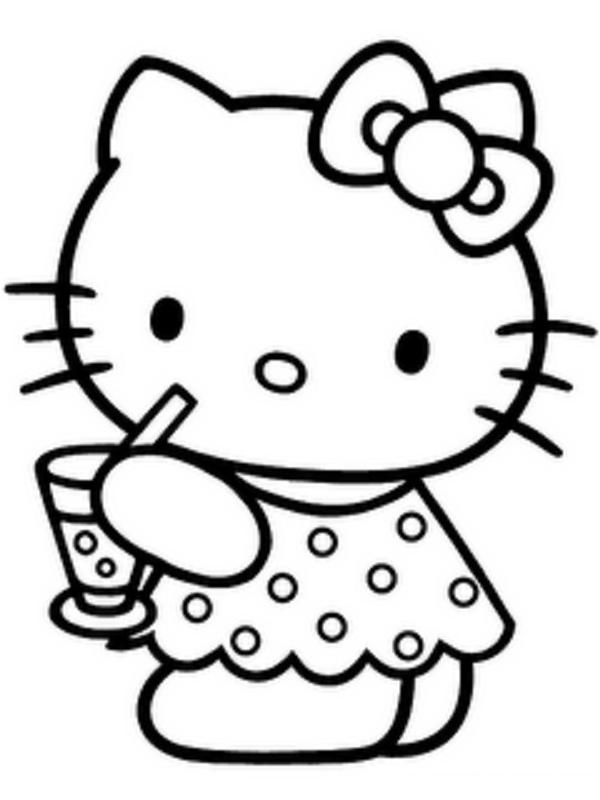 Hello Kitty  Free Colo...