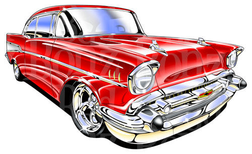 57 Chevy Clipart - ClipArt Best