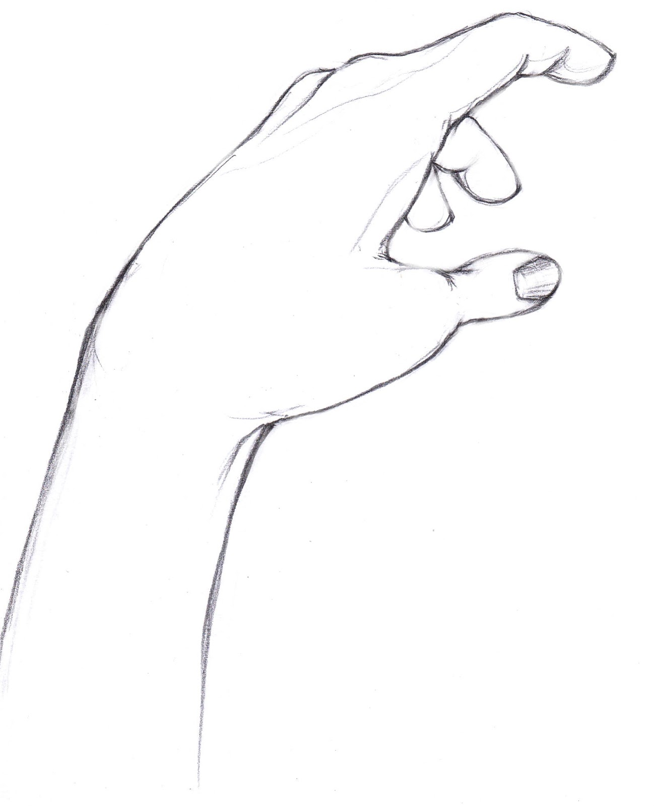 Line Art Hands : Hand line art cliparts