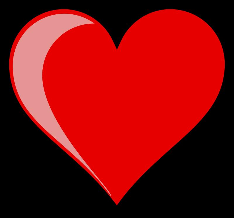 Heart Vector Free - Cliparts.co