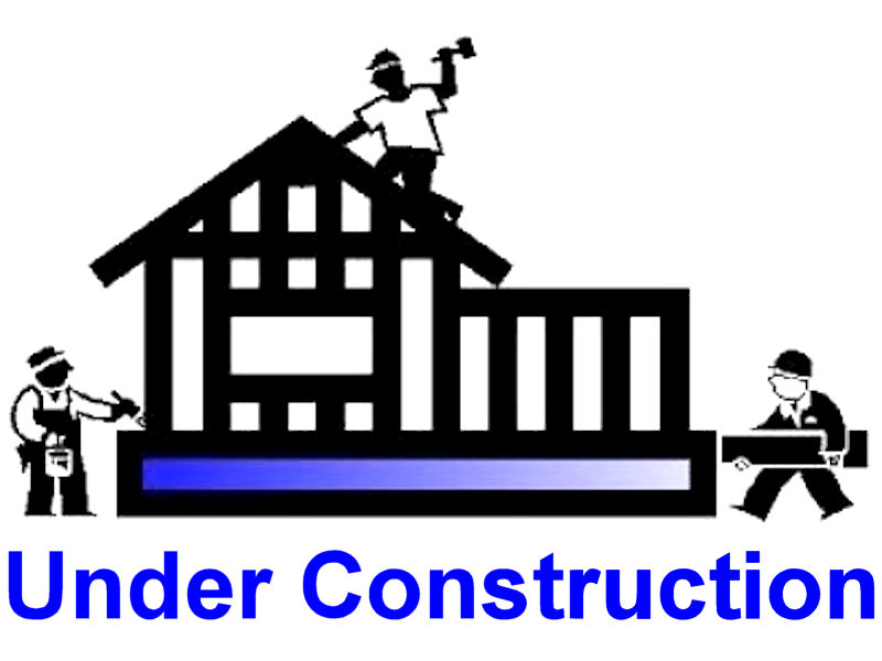 Under construction clip art for House building website