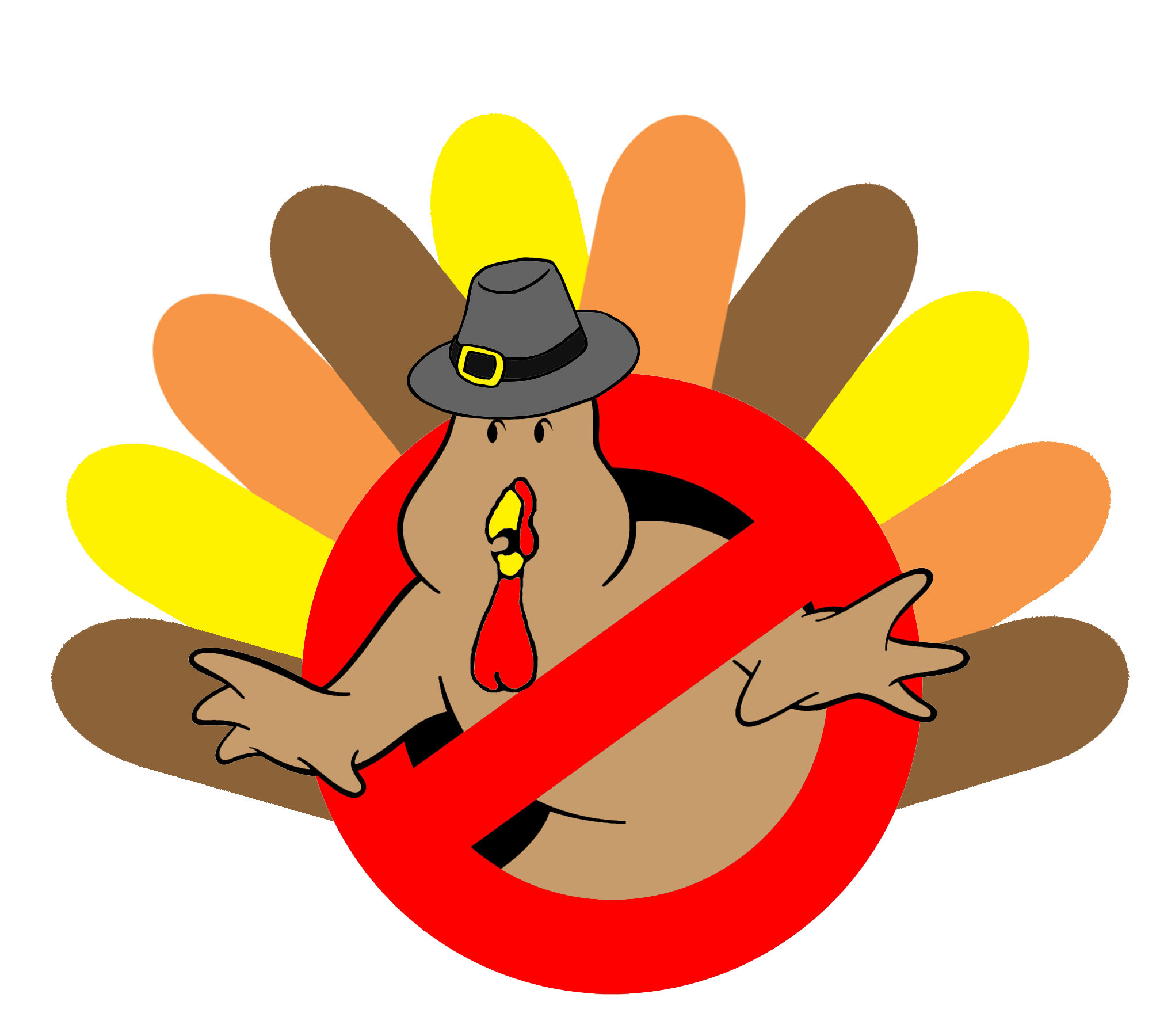 Thanksgiving GB Turkey Logo - Community - Ghostbusters Fans Forum