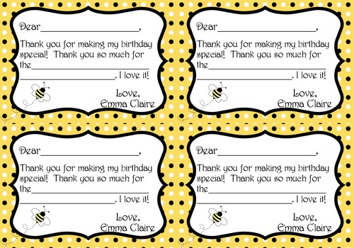 Bumble Bee Invitation is best invitations example