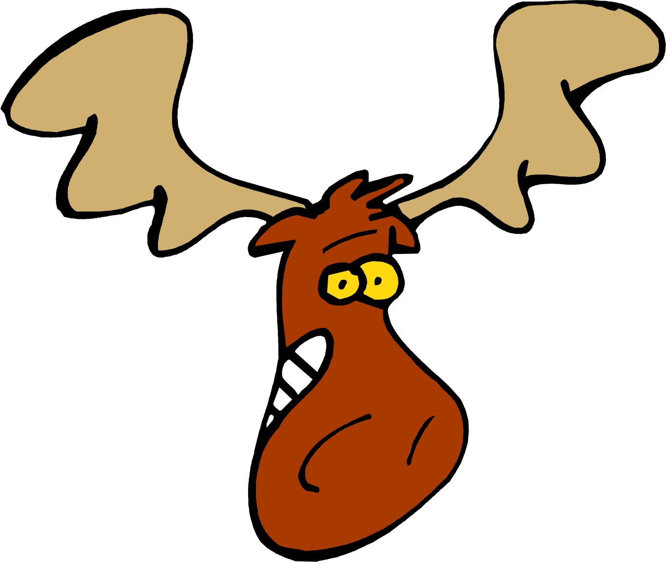 Moose Cartoon Images - Cliparts.co