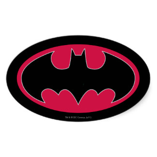 Batman Logo Stickers, Batman Logo Sticker Designs
