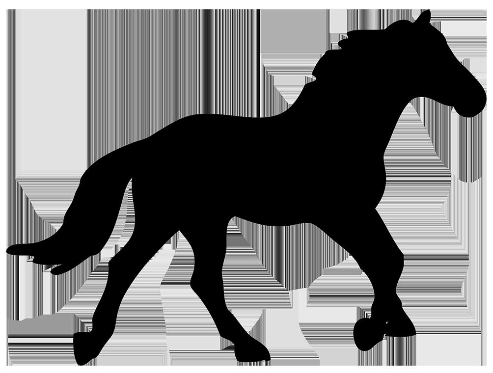horse clip art free silhouette - photo #41