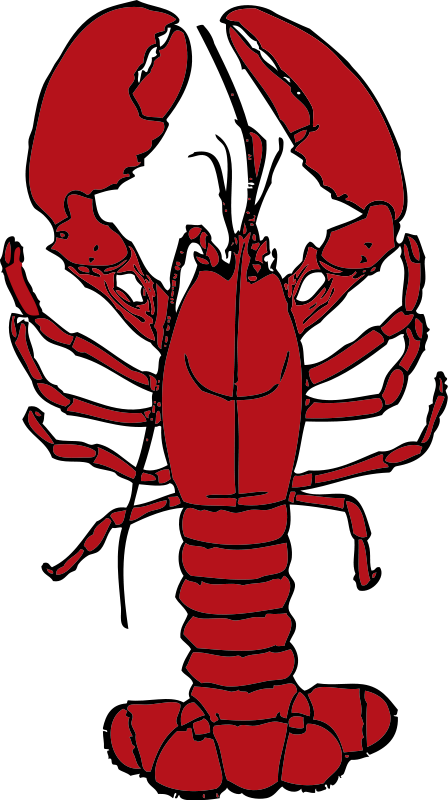 Lobster Clip Art Black And White | Clipart Panda - Free Clipart Images