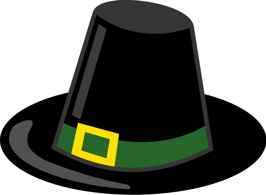 Pilgrim hat SVG Vector file, vector clip art svg file